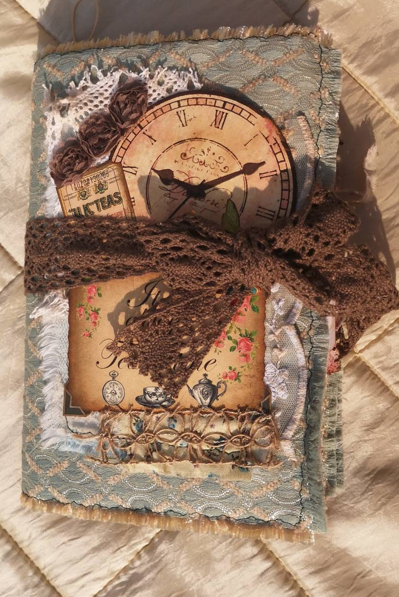 It/'s Always Tea Time Junk Journal