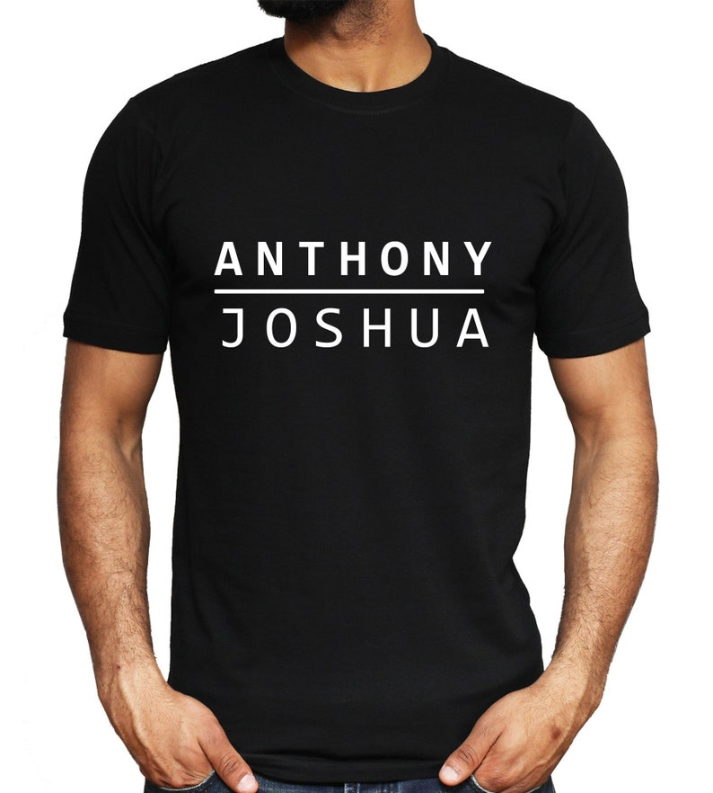 ba08658d Anthony Joshua T-shirt Boxing World Champion Gym Training | Etsy