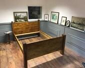 Handmade Salvage Wood Bed