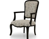 Formoso Upholstered Armchair Bespoke Custom Finished Wood Upholstered To Order Handmade Seating By Millmax