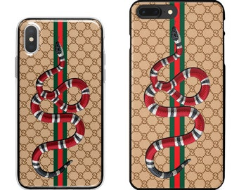 57d363091820 Gucci snake beige phone case for iPhone Xs Max, Xr, X/Xs, 8 Plus, 7 Plus,  Samsung S10, S10 Plus/S10+, S10e, S9, S9 Plus,Note