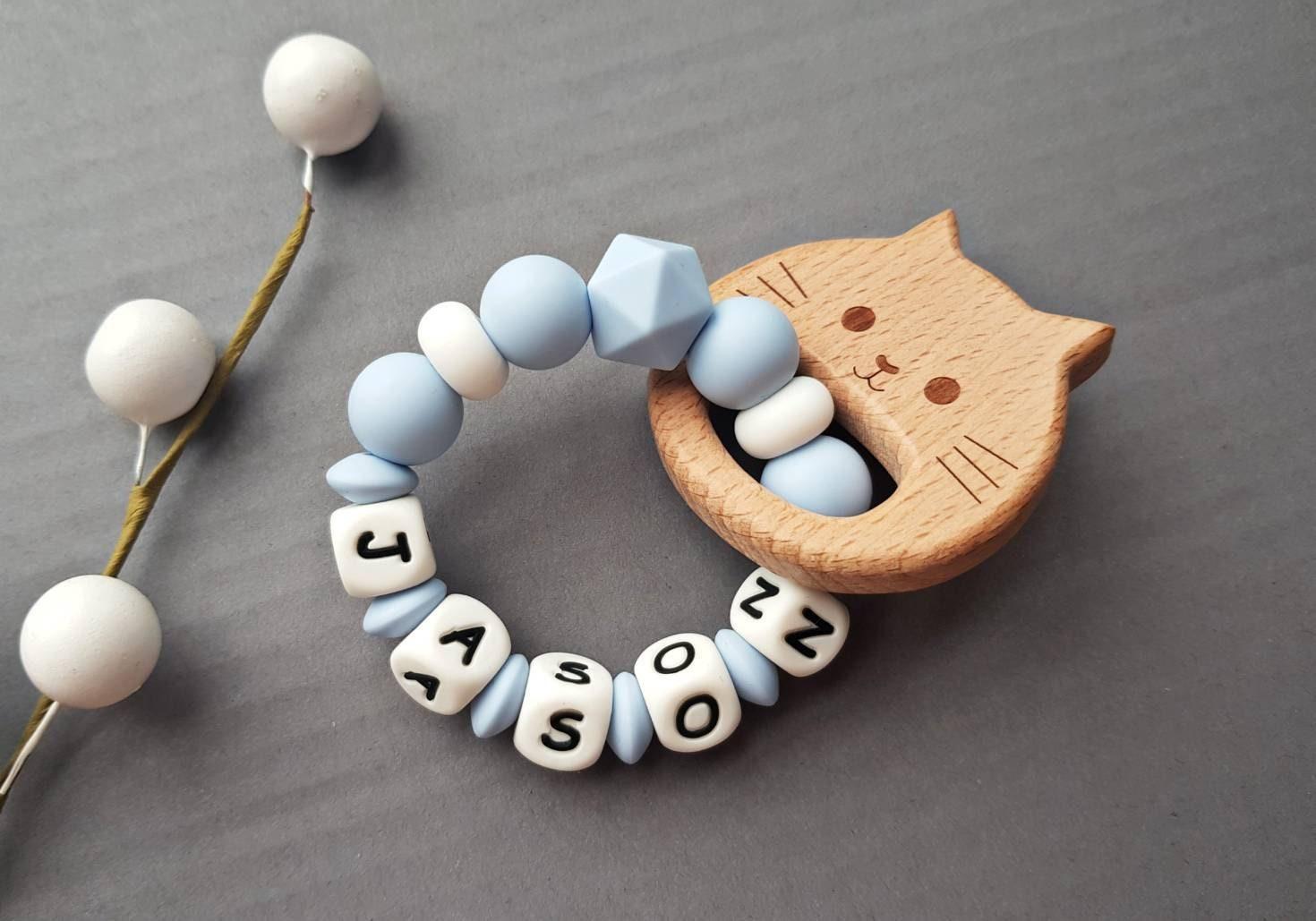 baby shower gift personalised teething toy Baby Teether teething toy