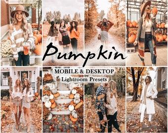 10 Mobile LIGHTROOM Presets, Autumn presets, Fall presets, Halloween Preset, lightroom preset, warm, Desktop Preset, Instagram filter, vsco