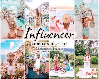 12 Mobile LIGHTROOM Presets, Lifestyle Filters, Influencer Preset, lightroom preset, Mobile Bright, Desktop Preset, Instagram summer Filters