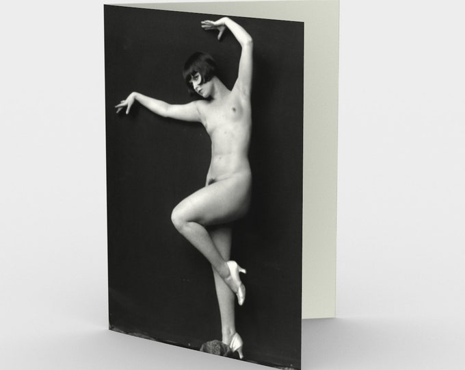 Louise Brooks, Ziegfeld Girl - Stationery Cards (3), With An  Image From An Antique Vintage Photo, Circa 1920.