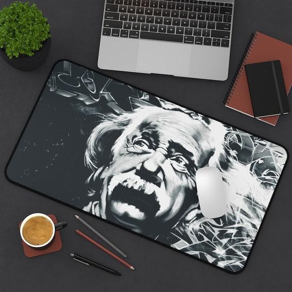 Einstein Contemplates The Multiverse, Desk Mat
