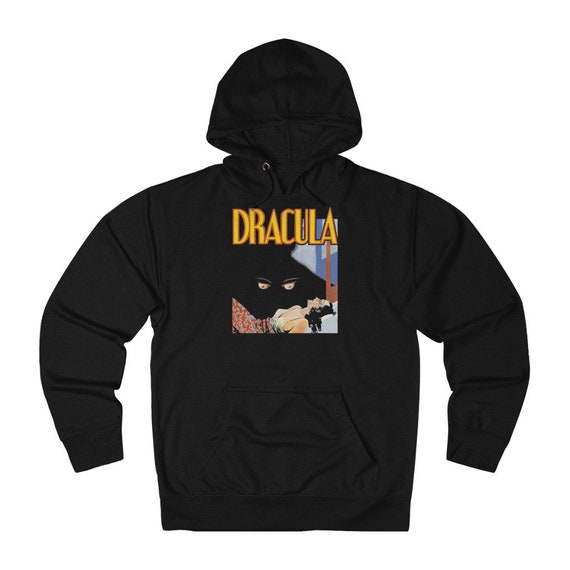 Dracula, Unisex French Terry Pullover Hoodie, From A Vintage 1931 Horror Movie Poster