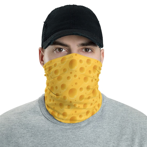 Cheese Neck Gaiter, Green Bay Packers Fan, Great Gift For Your Favorite Cheesehead