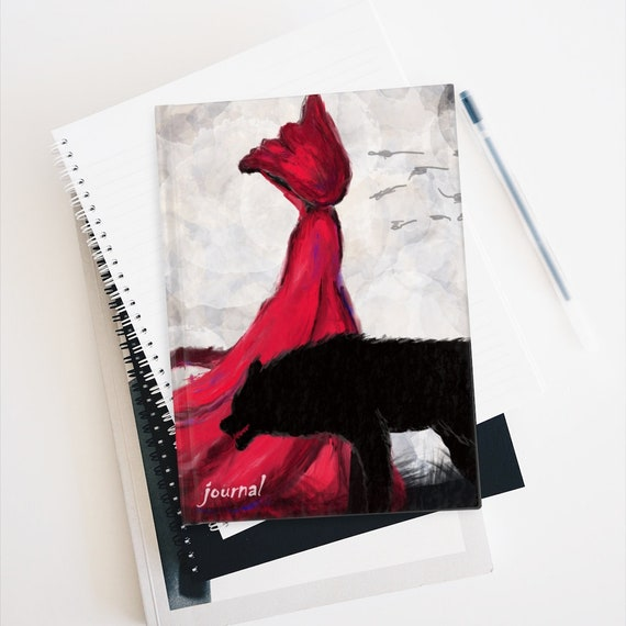 Red Riding Hood And Companion Hardcover Journal, Ruled Lines, A Fairy Tale Retold