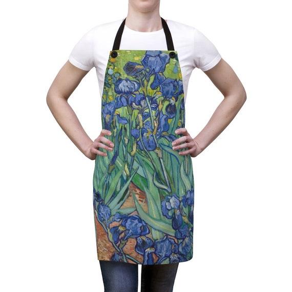 Irises Kitchen Apron, Vincent Van Gogh
