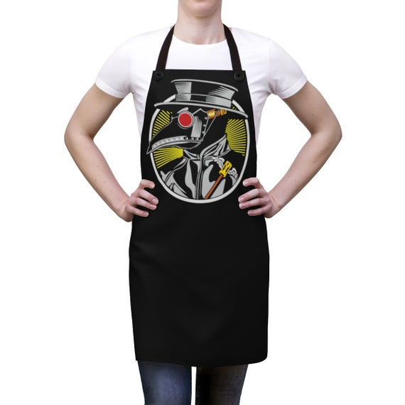 Plague Doctor, Cookout Apron, Vintage Inspired Steampunk Image