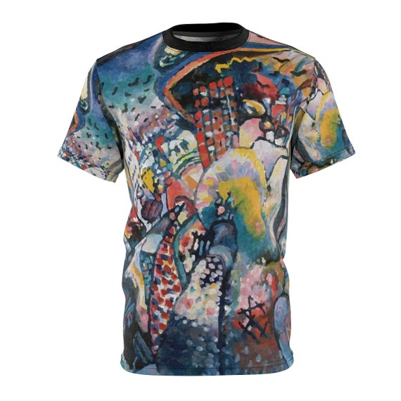 Moscow Cityscape, Unisex T-shirt, Wassily Kandinsky, Expressionism