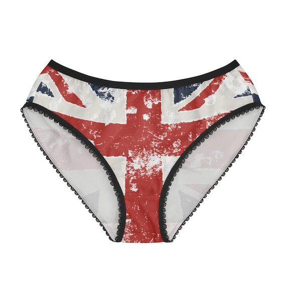 Grunge United Kingdom Flag, Women's Briefs