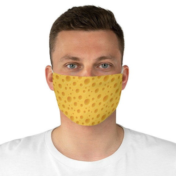 Cheese, Cloth Face Mask, Washable, Reusable, Great Gift For Your Favorite Cheesehead, Packers Fan