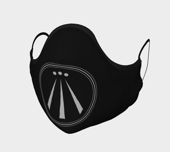 Awen, Face Mask, 7 Sizes, Filter Pocket, Filters, 100% Cotton, Welsh Pride, Celtic