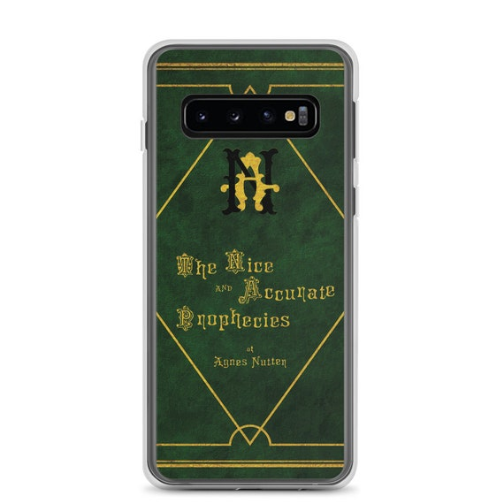 The Nice and Accurate Prophecies of Agnes Nutter, Samsung Galaxy S10 Series Case, TV Book, Good Omens