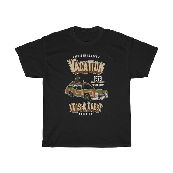 National Lampoon's Vacation, Unisex Hvy Cotton Tee, Wagon Queen Family Truckster