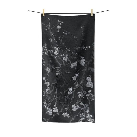 Almond Blossoms On Black Bath Towel, Vincent Van Gogh, 1890