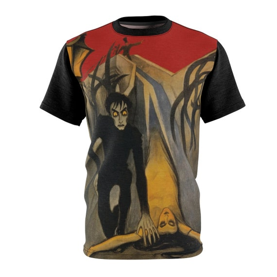 The Cabinet of Dr. Caligari, Unisex T-shirt, 1920 German Silent Horror Film Poster