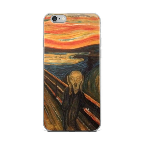 The Scream, iPhone Case, Vintage/Antique Painting, Edvard Munch 1893