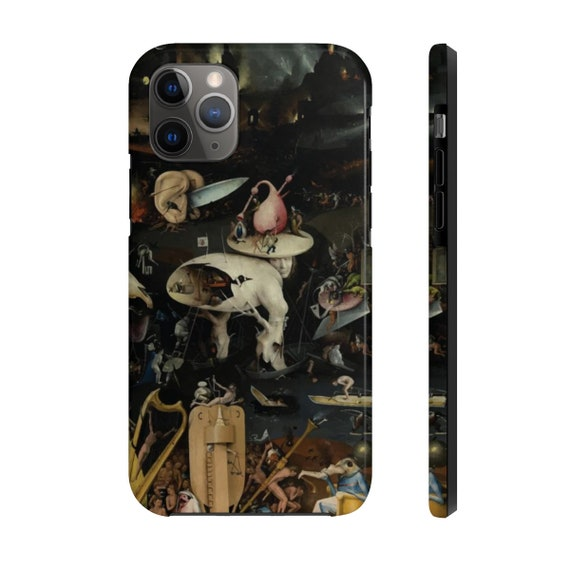 Bosch's Hell, iPhone 11 Tough Case, Hieronymus Bosch, Right Panel Of The Garden of Earthly Delights