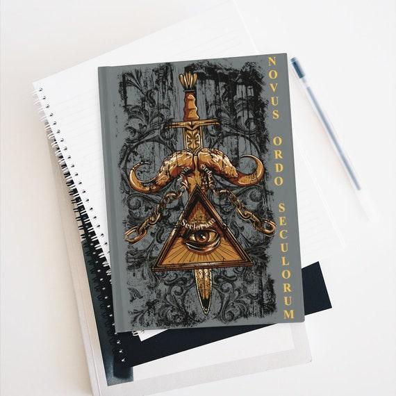 Novus Ordo Seculorum, Hardcover Journal, Ruled Line, New World Order