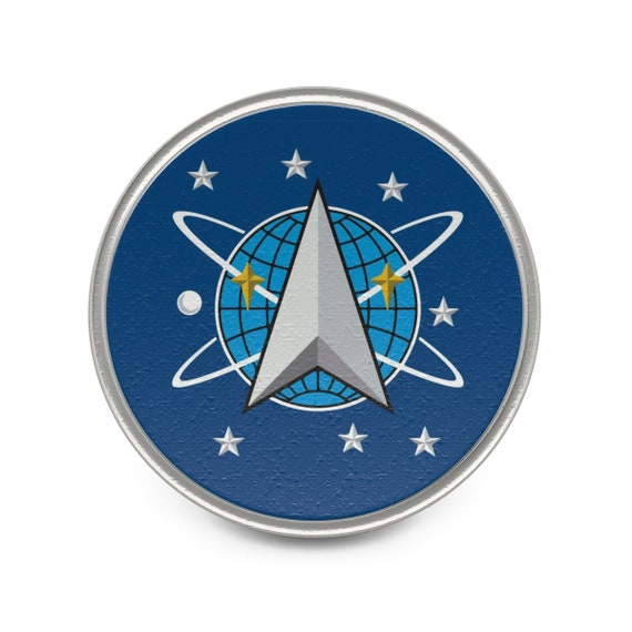 Space Command, Pewter Pin