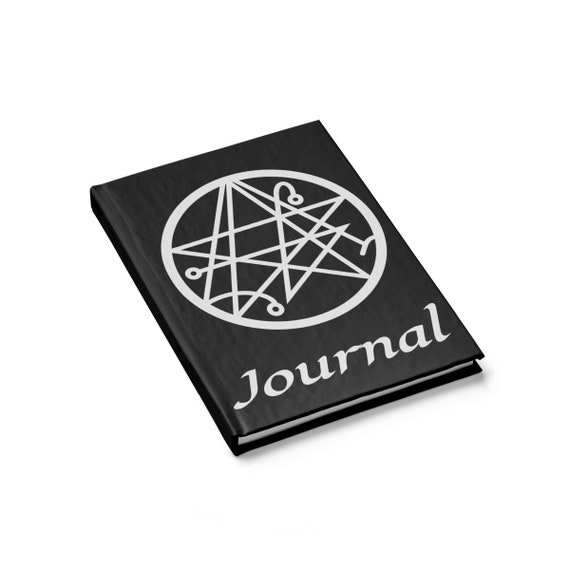 Sigil Of The Gateway, Hardcover Journal, Ruled Line, H.P. Lovecraft, Necronomicon