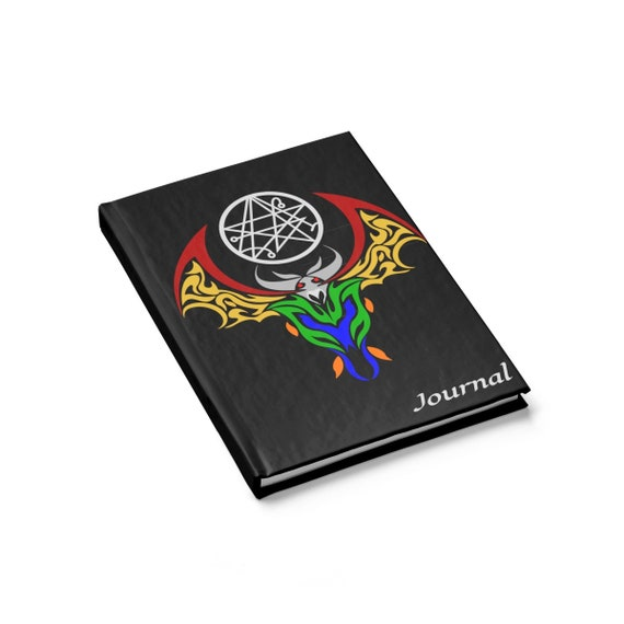 Guardian Of The Gateway, Hardcover Journal, Ruled Line, Inspired By H.P. Lovecraft's Cthulhu Mythos