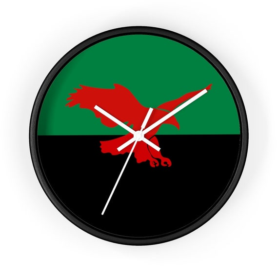 """House Atreides v2, 10"""" Wall Clock, Inspired From Dune, Cosplay, Red Hawk, Banner"""