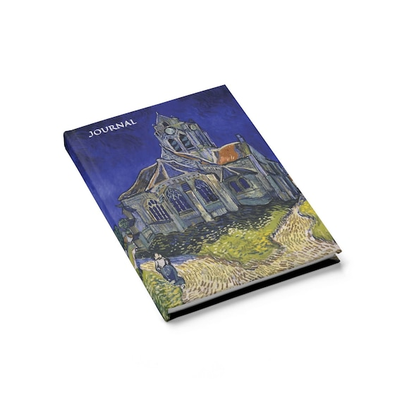 The Monster In The Church, Hardcover Journal, Ruled Line, Inspired From Doctor Who Episode Vincent And The Doctor