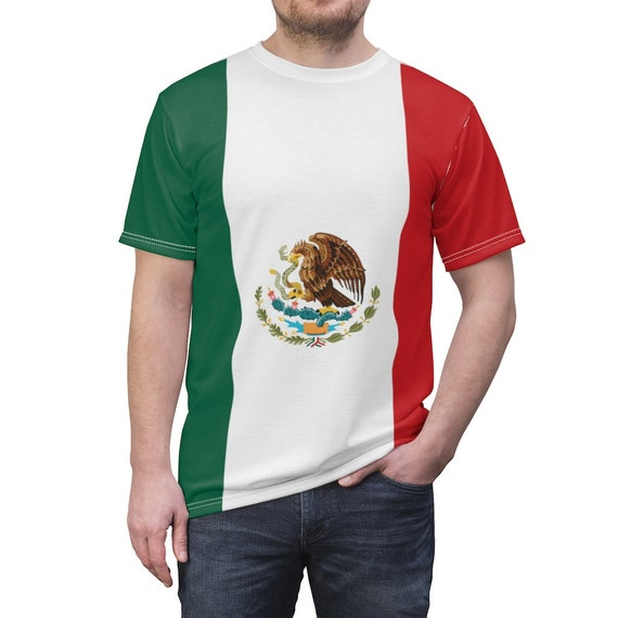 Mexican Eagle Unisex T-shirt, Flag Of Mexico
