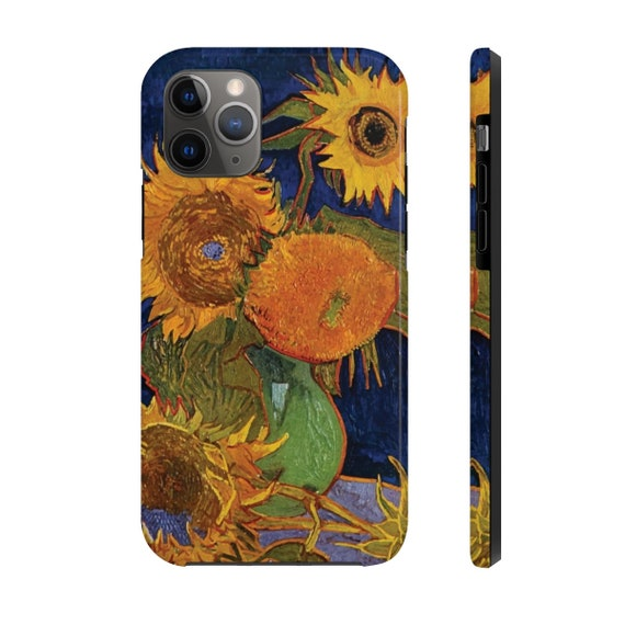 Six Sunflowers, iPhone 11 Tough Case, Vincent Van Gogh, 1888