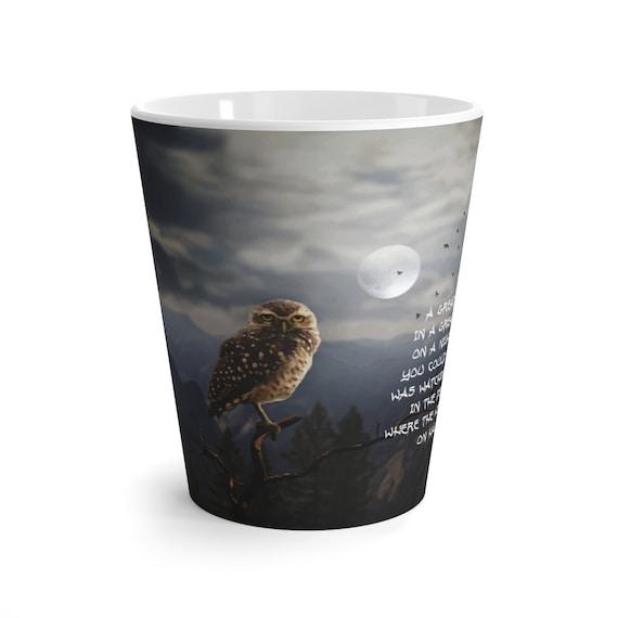 Great Big Owl Latte Mug, Halloween, Coffee, Tea