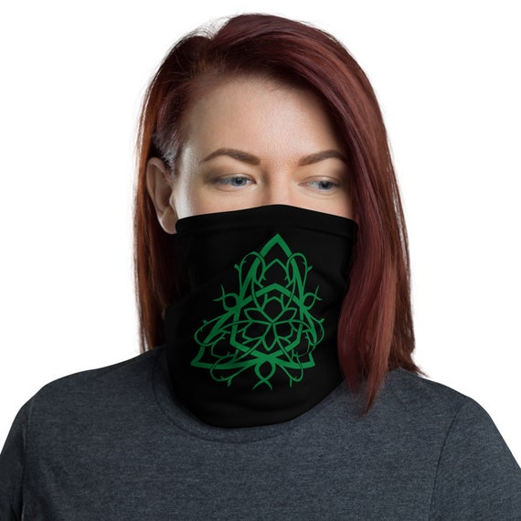 Celtic Tree Of Life Knot, Neck Gaiter, Irish, Scottish, Welsh, Headband, Bandana