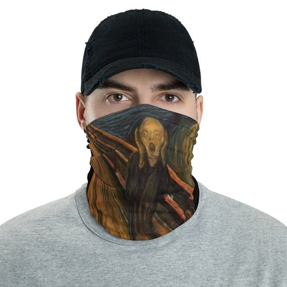 The Scream, Neck Gaiter, Edvard Munch