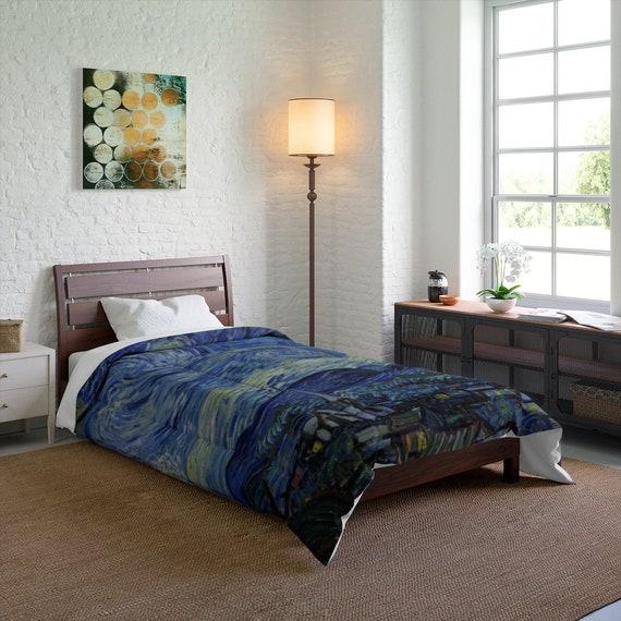 Starry Night Twin Comforter, Vincent Van Gogh
