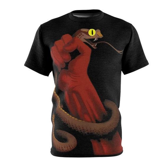Uproot Fascist Vipers, Unisex T-shirt, 1937 Soviet Propaganda Poster, Activism, AOP