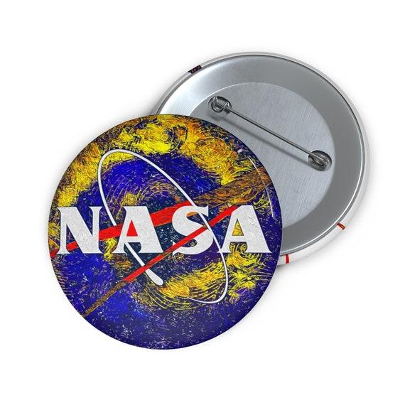 "NASA Starry Night 2"" Pin Button"