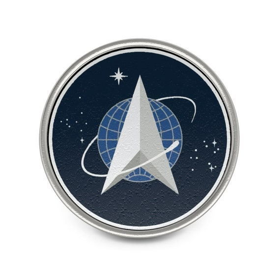 Space Force, Pewter Pin, From Official USSF Seal (without the writing and outer border), Military