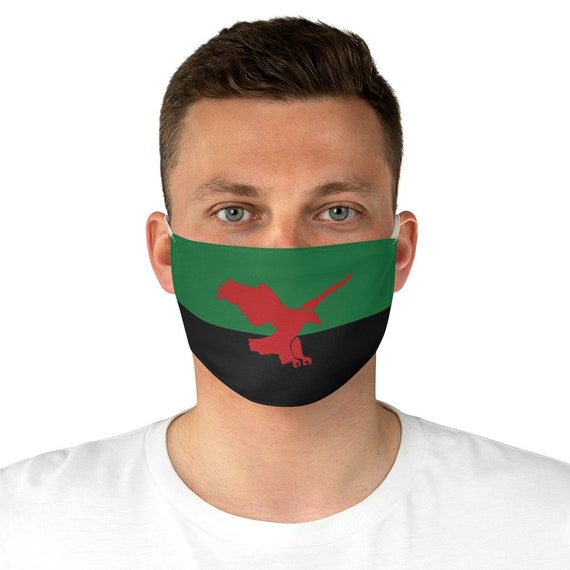 House Atreides v2, Cloth Face Mask, Washable, Reusable, Inspired From Dune, War Banner, Cosplay, Red Hawk, Flag