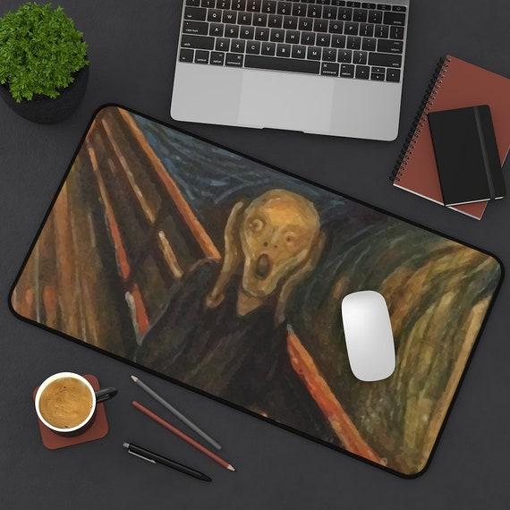 The Scream Desk Mat, Pirate Flag, Edvard Munch