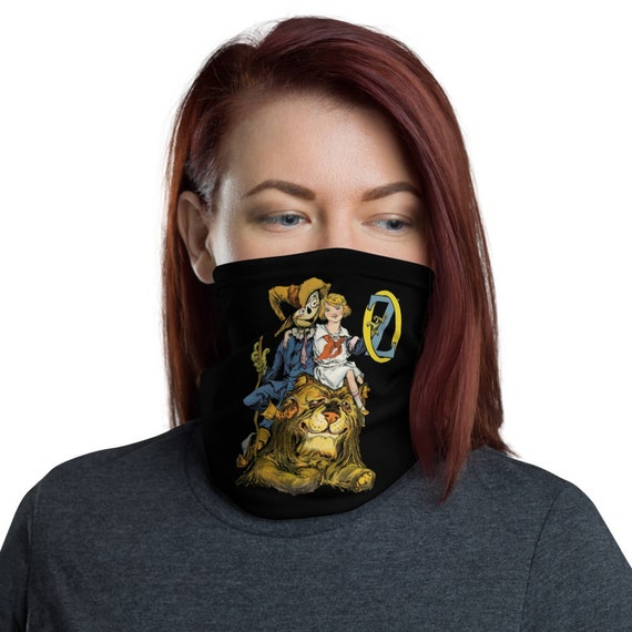 Dorothy, The Scarecrow & The Cowardly Lion, Neck Gaiter, Wizard Of Oz, Headband, Bandana