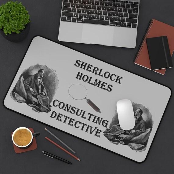 Sherlock Holmes Desk Mat, Consulting Detective, Arthur Conan Doyle