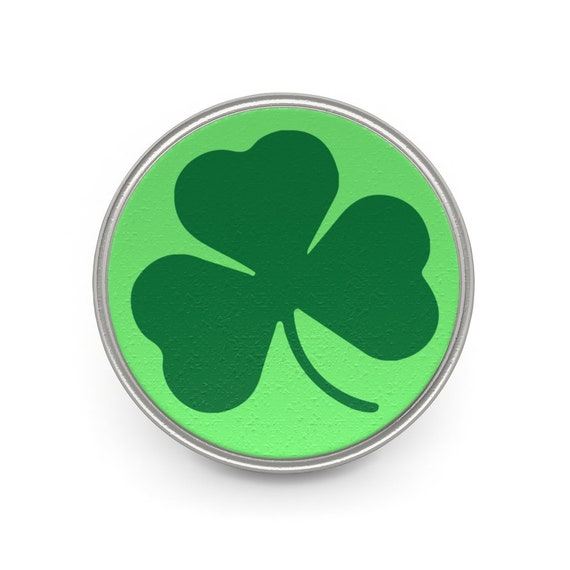 Ireland's Shamrock, Pewter Pin, St. Patrick's Day, Irish Pride