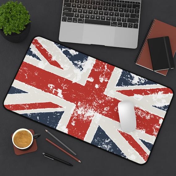 Grunge Union Jack Desk Mat, United Kingdom Flag