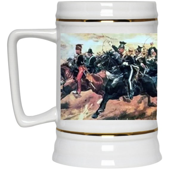 The Charge Of The Light Brigade 22oz. Beer Stein, Battle of Balaclava, Crimean War, Military History
