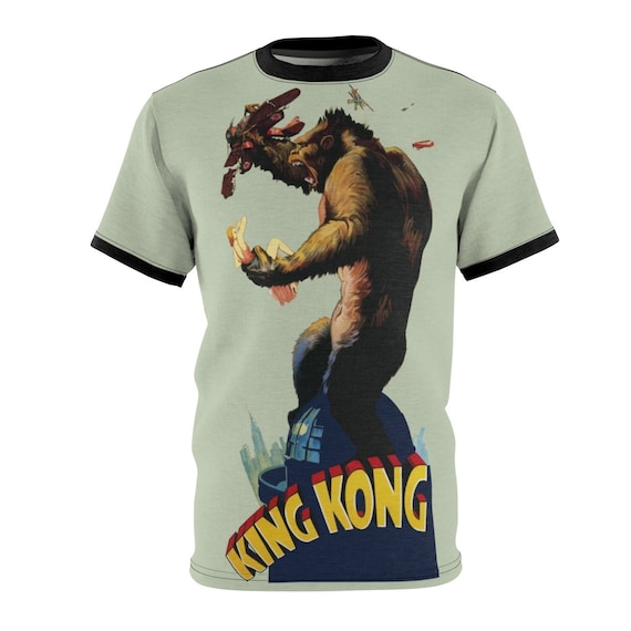 King Kong, Unisex T-shirt, Vintage 1933 Movie Poster