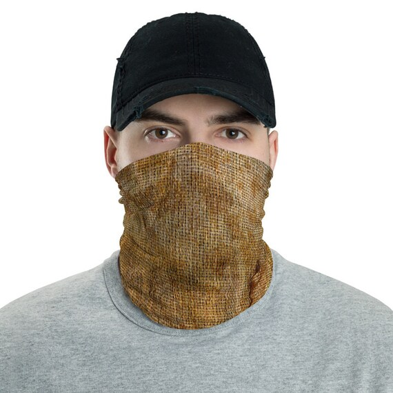 Dirty Burlap Sack, Neck Gaiter, Headband, Bandana