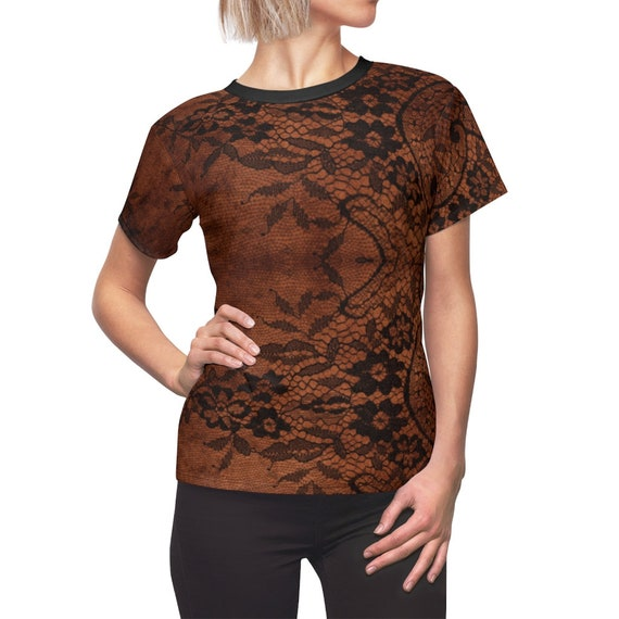 Aged Lace Women's Top, Grunge, Shabby, Vintage